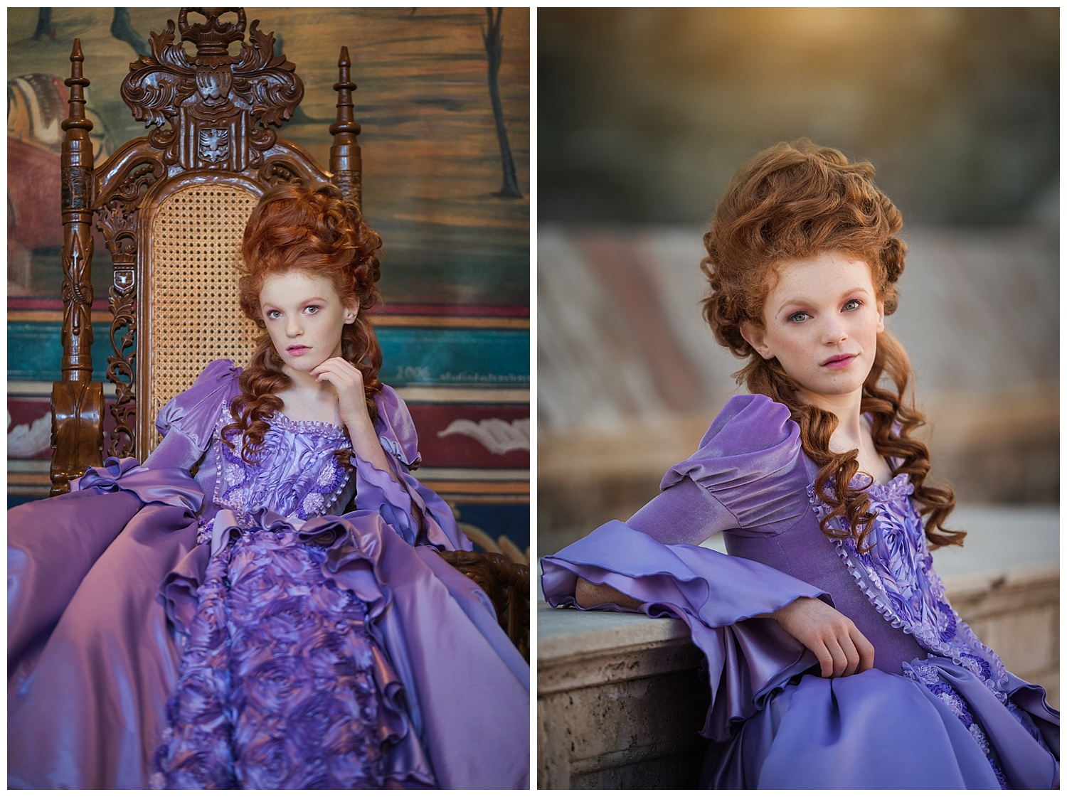 Marie Antoinette Fashion Editorial- Angelika Mitchell Sonoma County Portrait Photographer