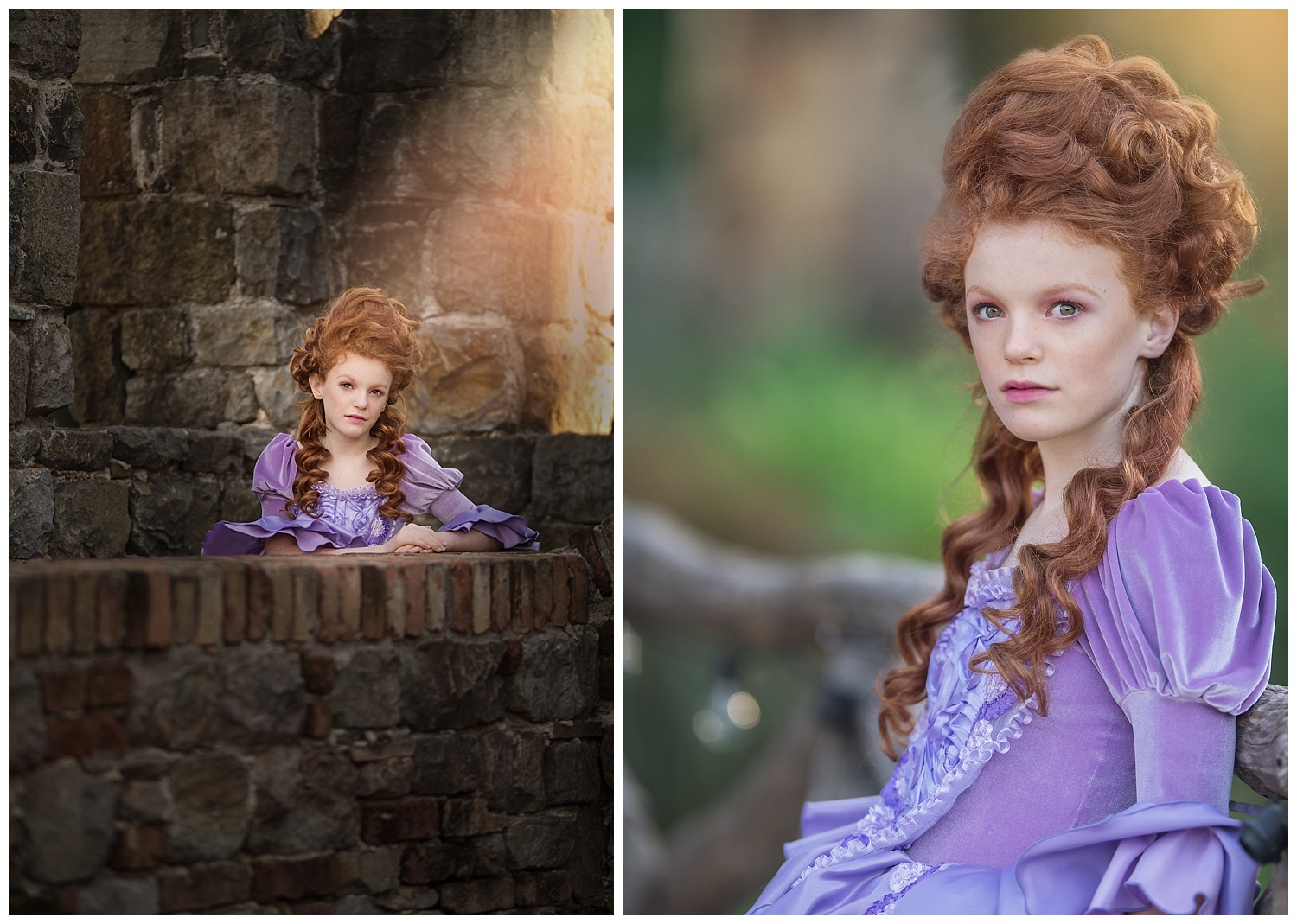 Marie Antoinette Fashion Editorial Shoot- Angelika Mitchell Sonoma County Portrait Photographer