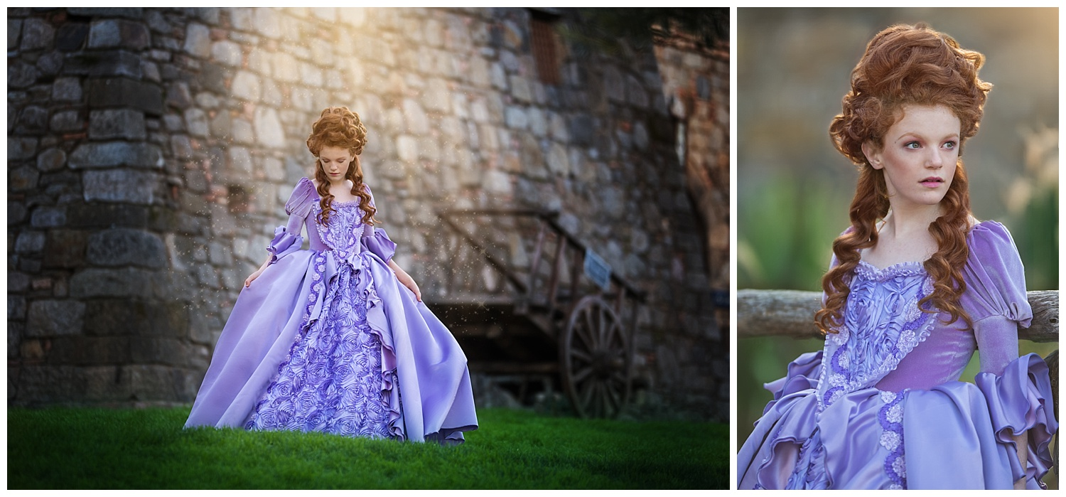 Marie Antoinette Fashion Editorial Photo Shoot- Angelika Mitchell Sonoma County Portrait Photographer
