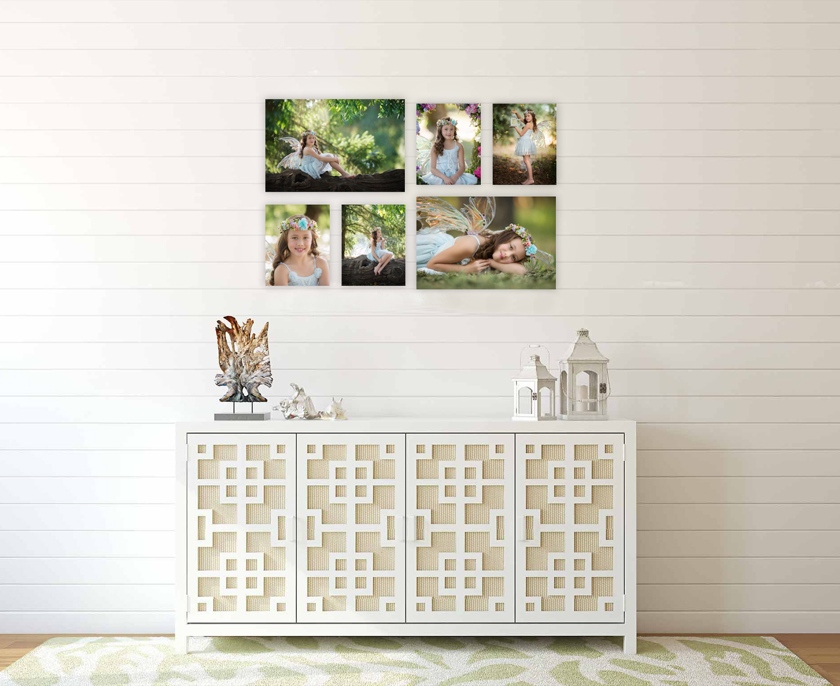 santa rosa fairy photos canvas wall