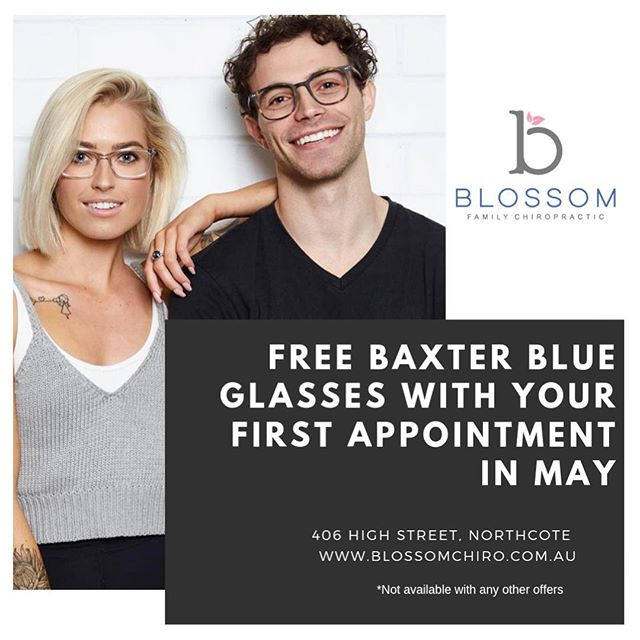 FOR A LIMITED TIME ONLY! 👓  We have teamed up with @baxterblue_ and are giving away a FREE pair of glasses of your choice with every FIRST APPOINTMENT in MAY! ~ Baxter Blue glasses are non-prescription, blue-light blocker glasses that can be used while on digital screens which may help with eye strain, headaches, sore eyes, and lack of sleep - for more info, head to their website! ~ Mention 'Baxter' at your appointment to receive your pair ~ { Available to new patient only } { Not valid with any other offers } { Only while stock lasts }