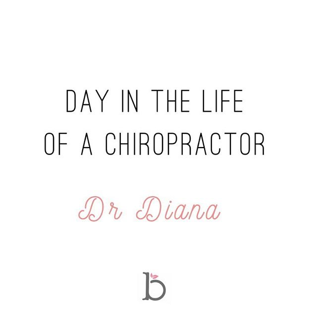 In honor of Spinal Health Week coming up this month, we are doing something special 🌸  A DAY IN THE LIFE of our Blossom Chiropractors! Tomorrow we are starting with Dr Diana. Each week a different chiro will take you through their day ~ Diana is a mother to her 4 month old daughter, she loves all things chiropractic, pregnancy, postpartum, babies, health & fitness ~ Follow along in the INSTASTORIES to see a day in her life!