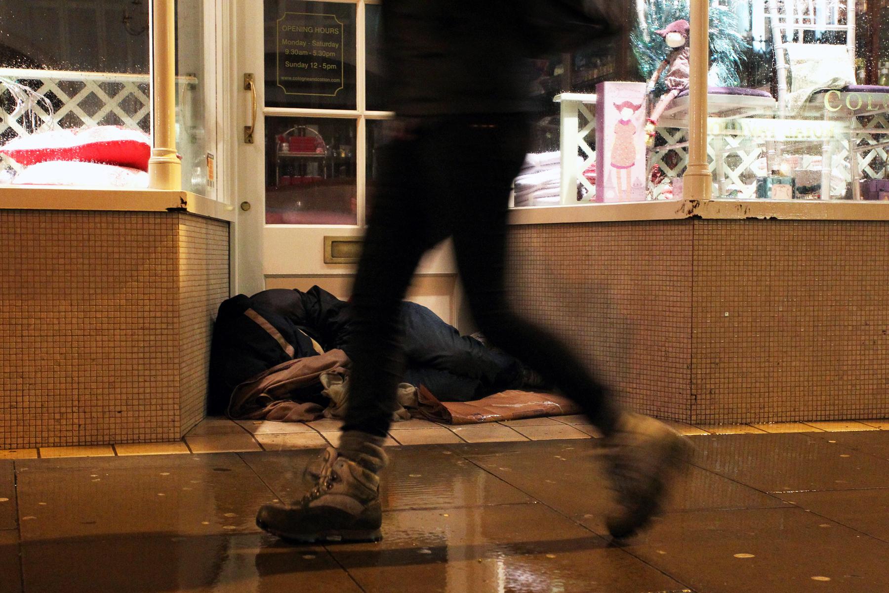 Homeless Count, Brighton.