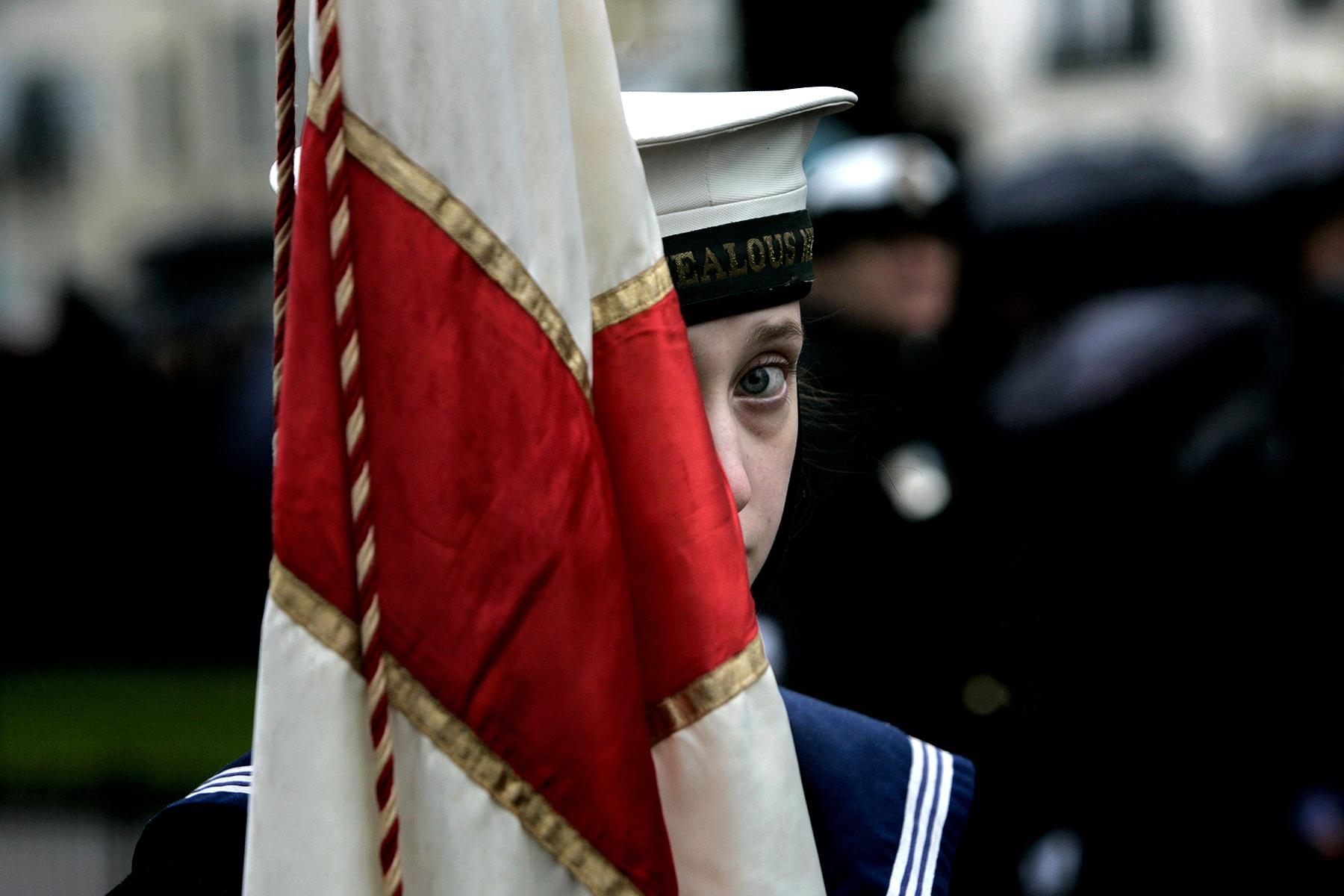 Remembrance service, Brighton.