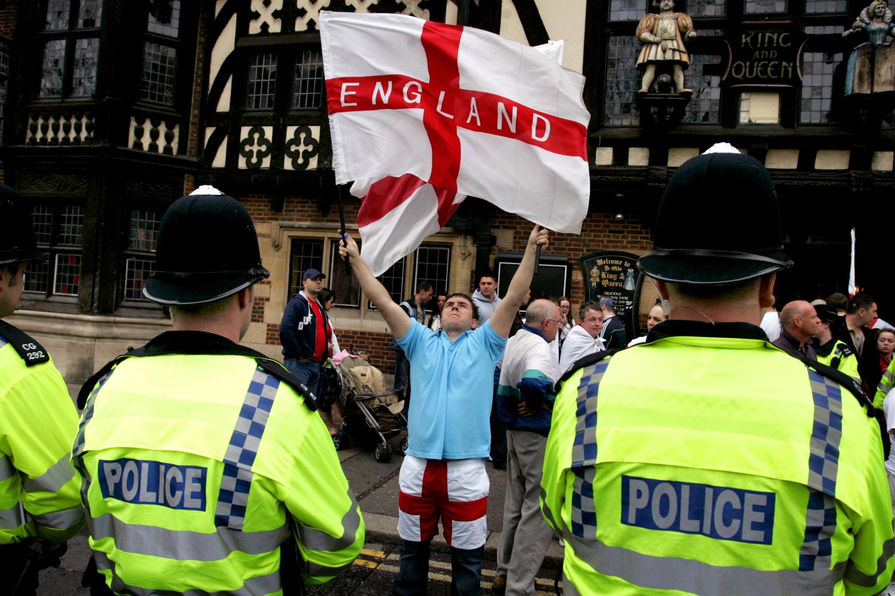 March for England, Brighton.