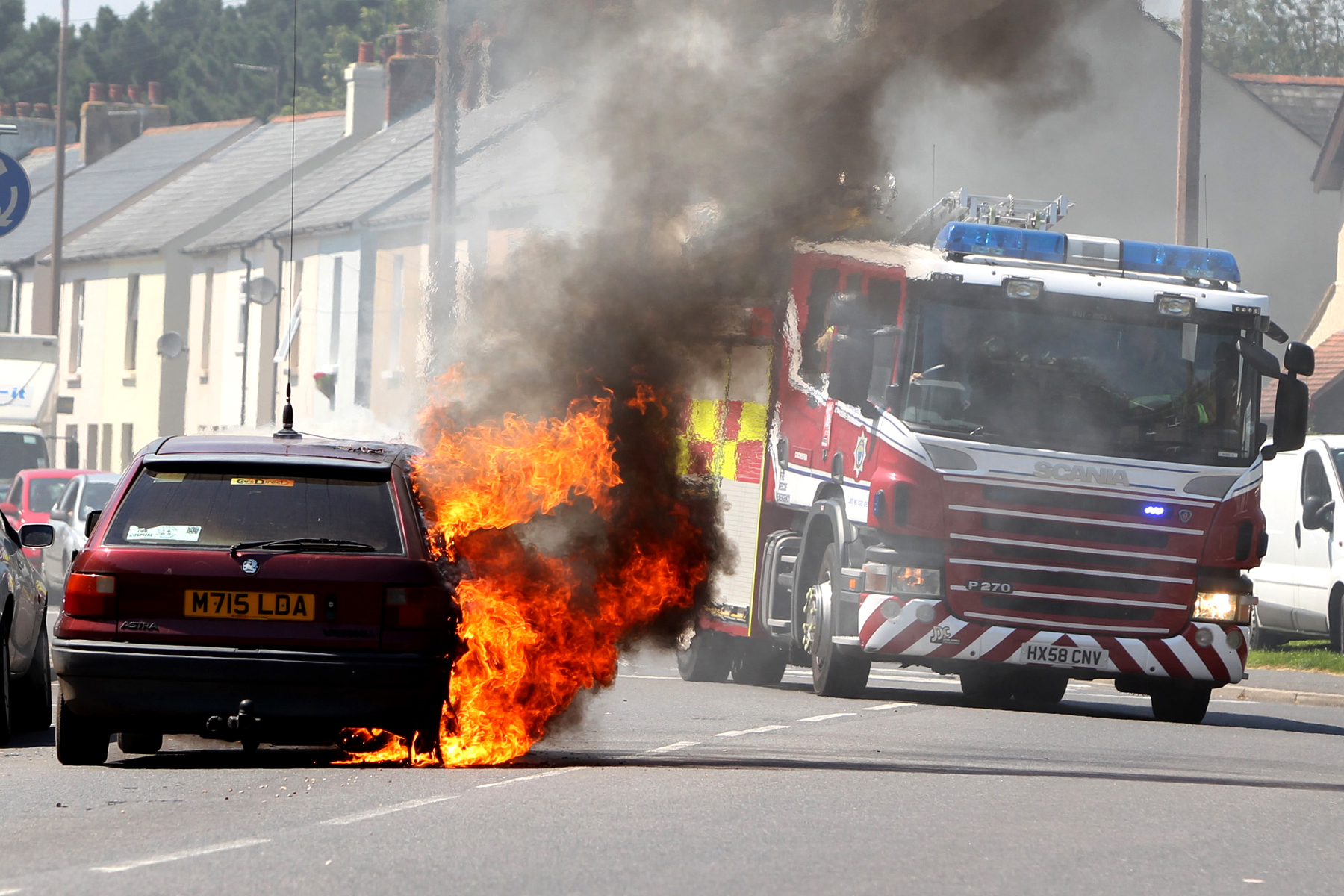 Fire, Chichester.