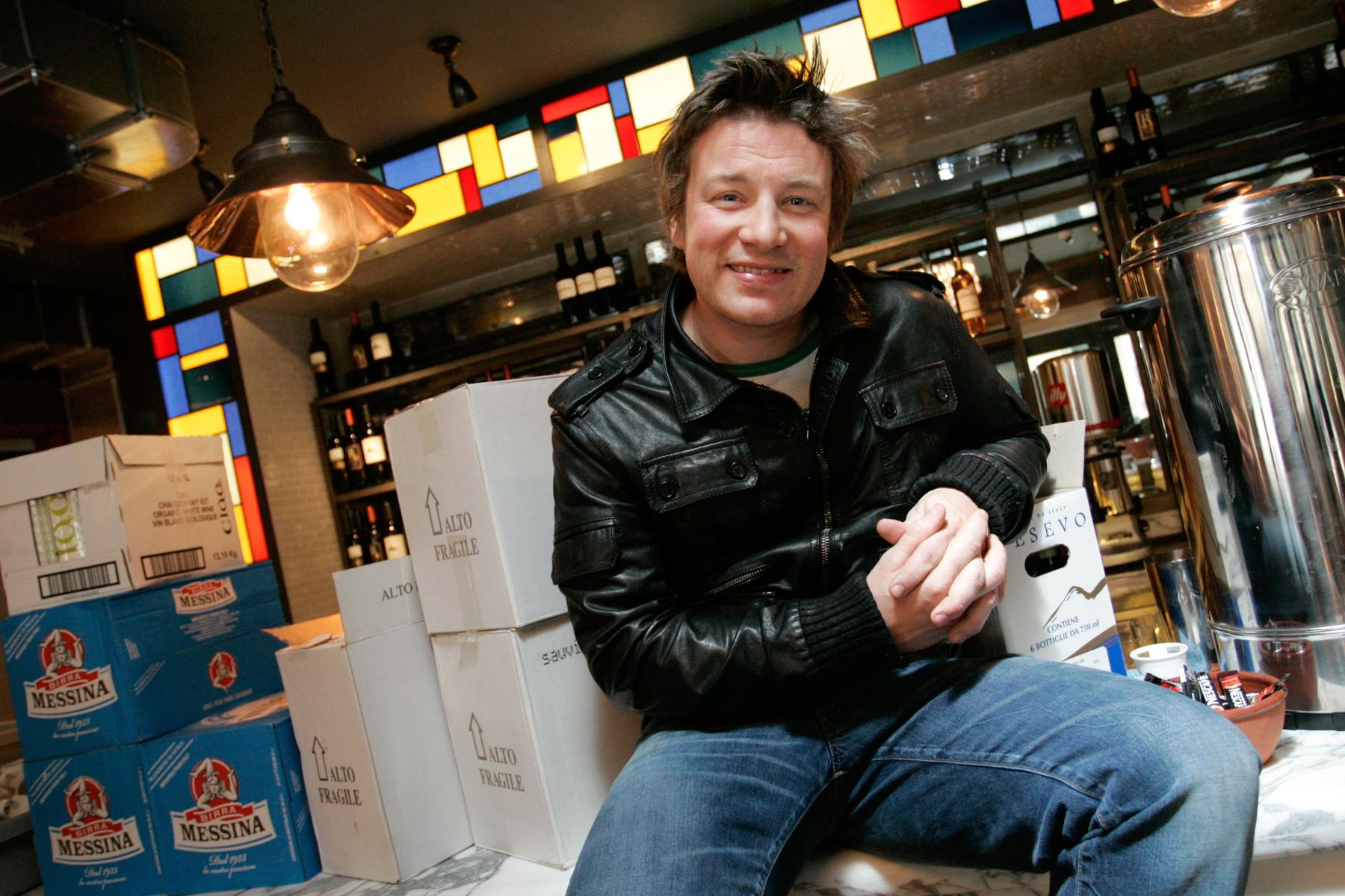 Jamie Oliver, Brighton.