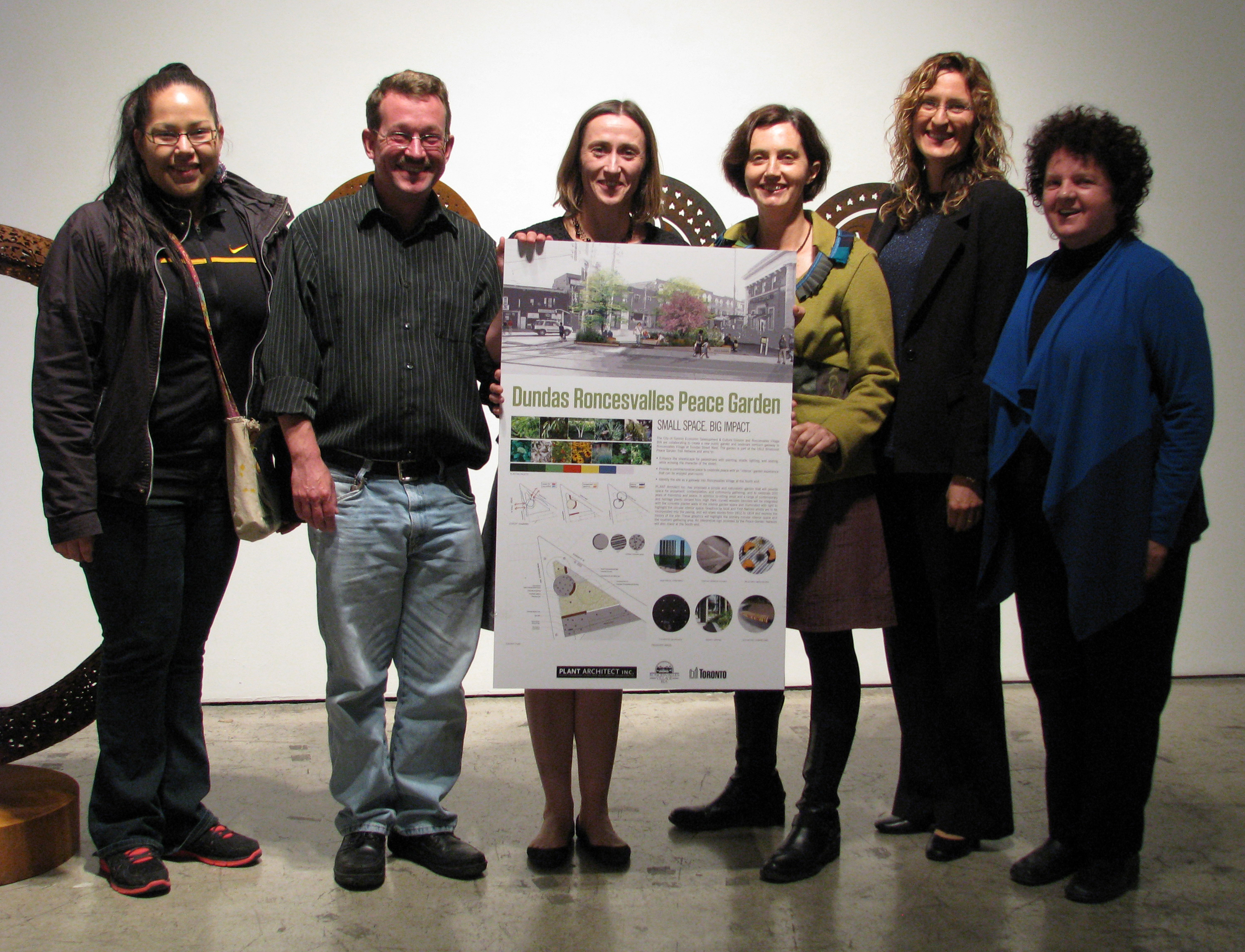 Landscape Design Public Meeting - October 2013
