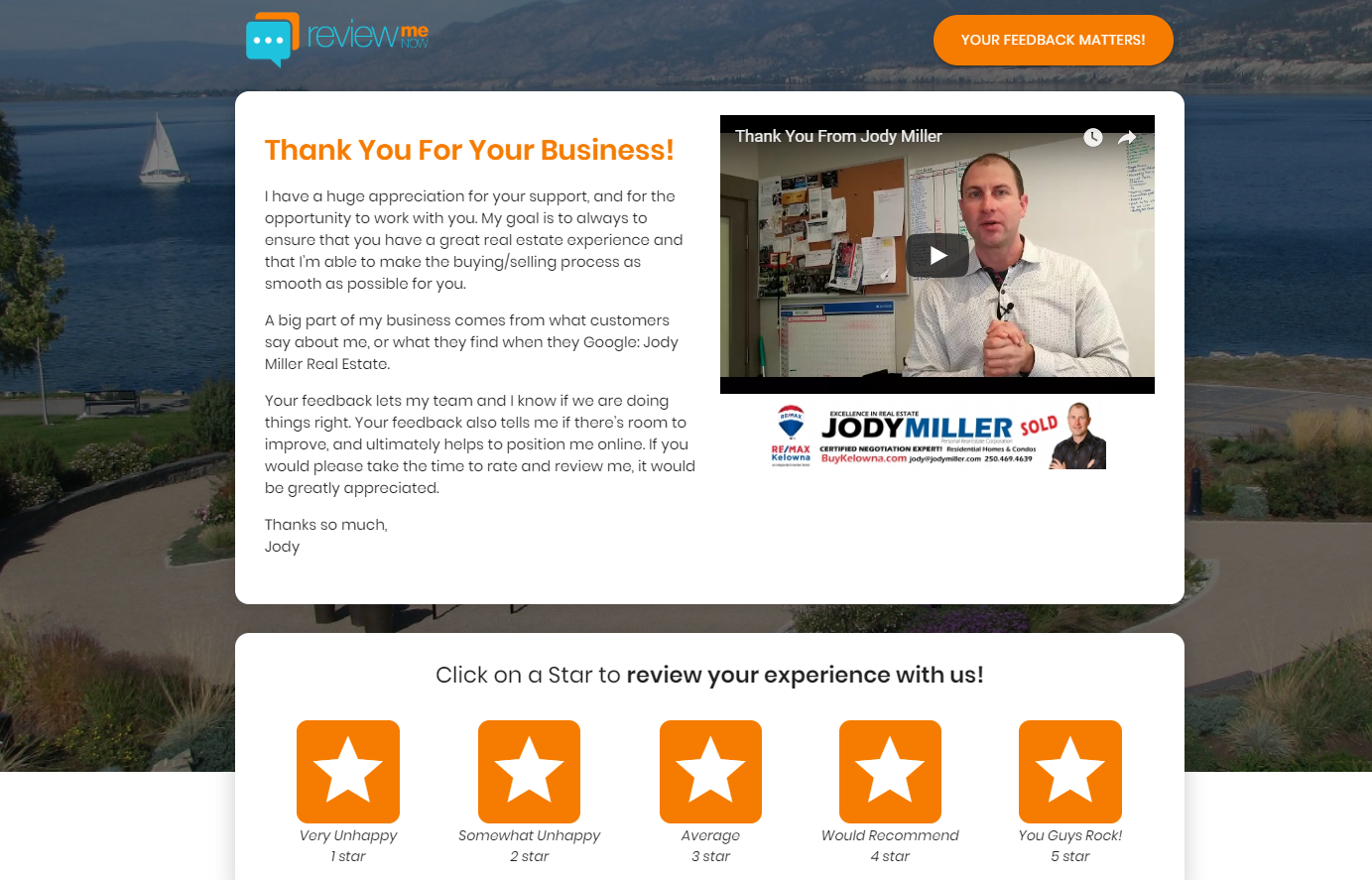 Click Image to See Jody's Review Portal Page