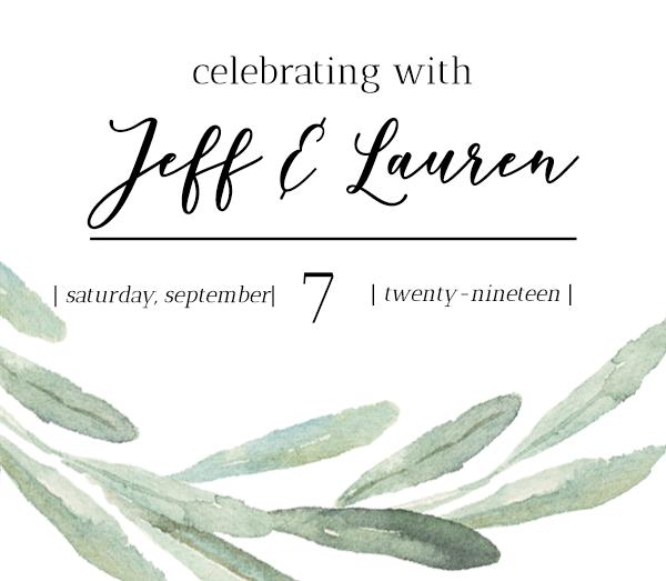 Jeff & Lauren's Wedding