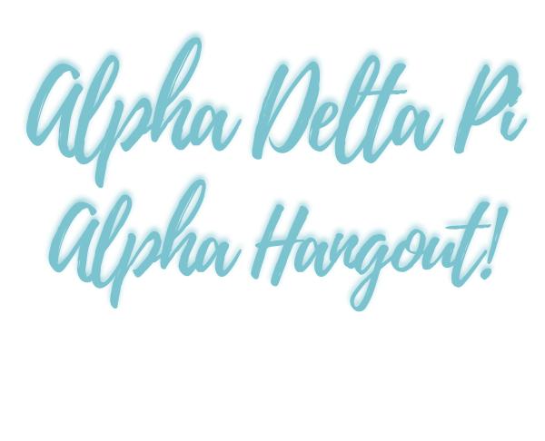 Alpha Delta Pi - New Member Social