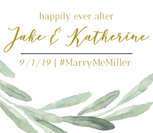 Jake & Katherine's Wedding
