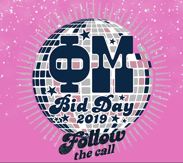 Phi Mu Bid Day 2019