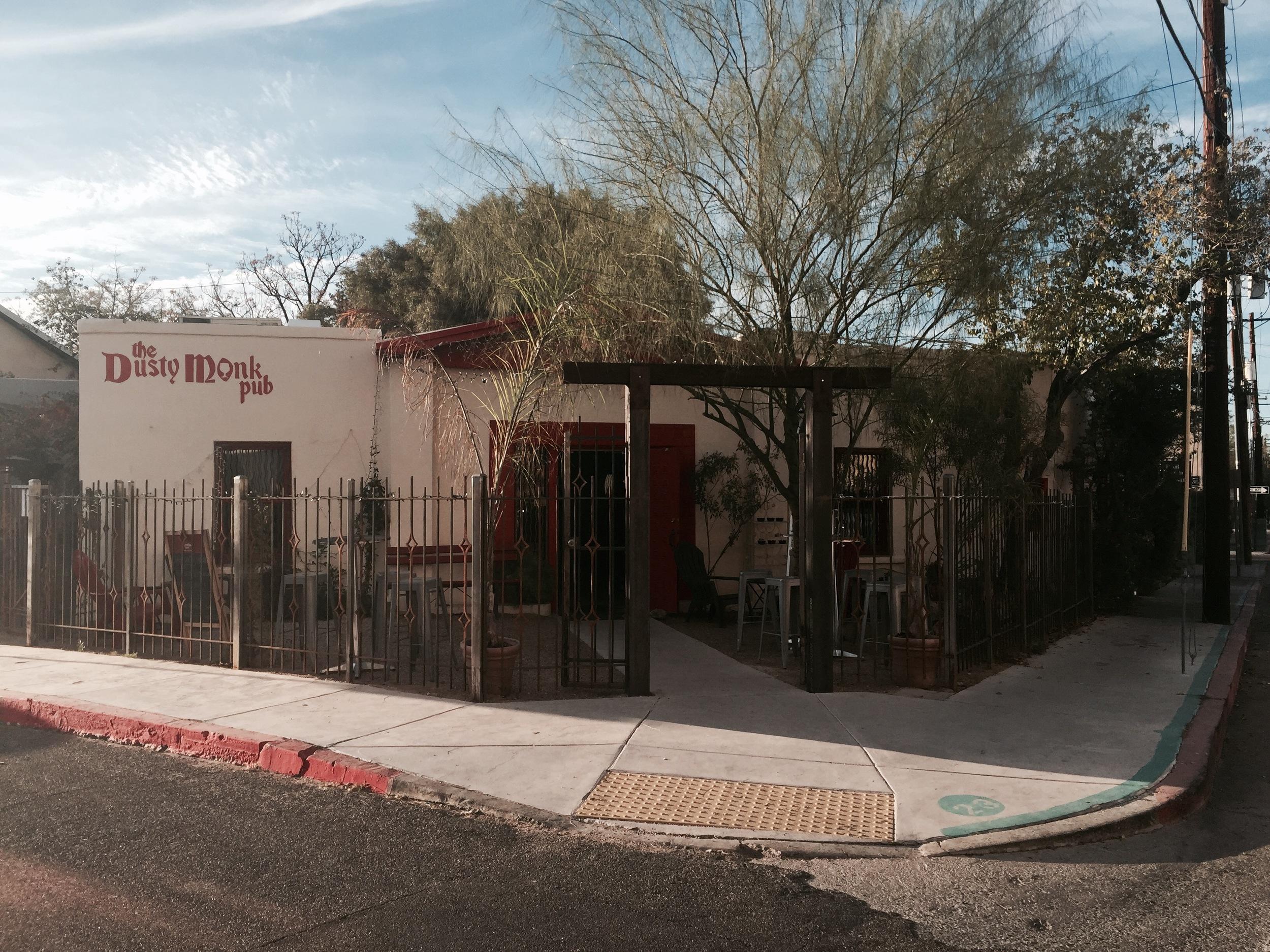 One of the entrances into La Cocina Restaurant | Tucson, AZ