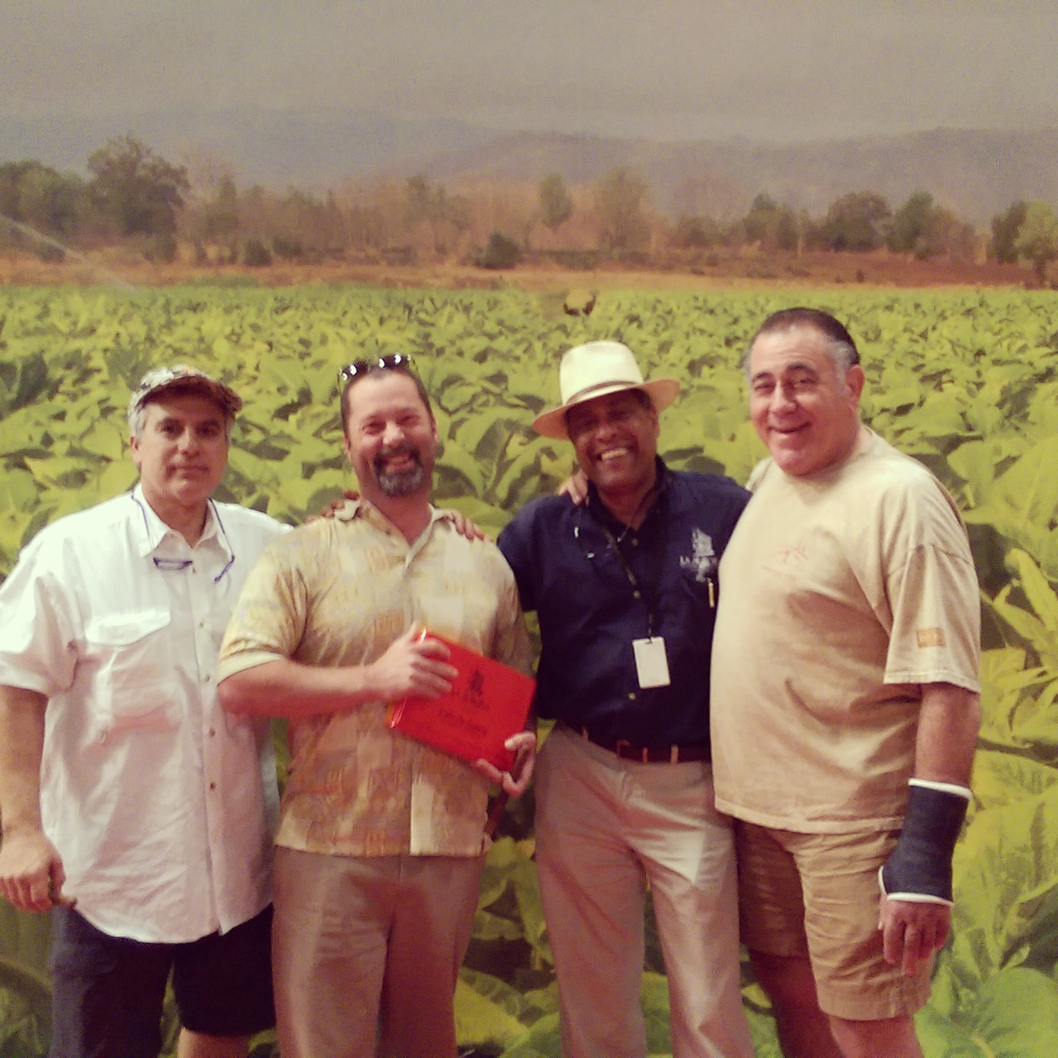 TESTING BLENDS IN THE FIELDS OF THE DOMINICAN REPUBLIC