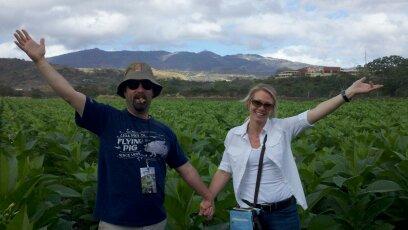 Nicaraguan fields of Love