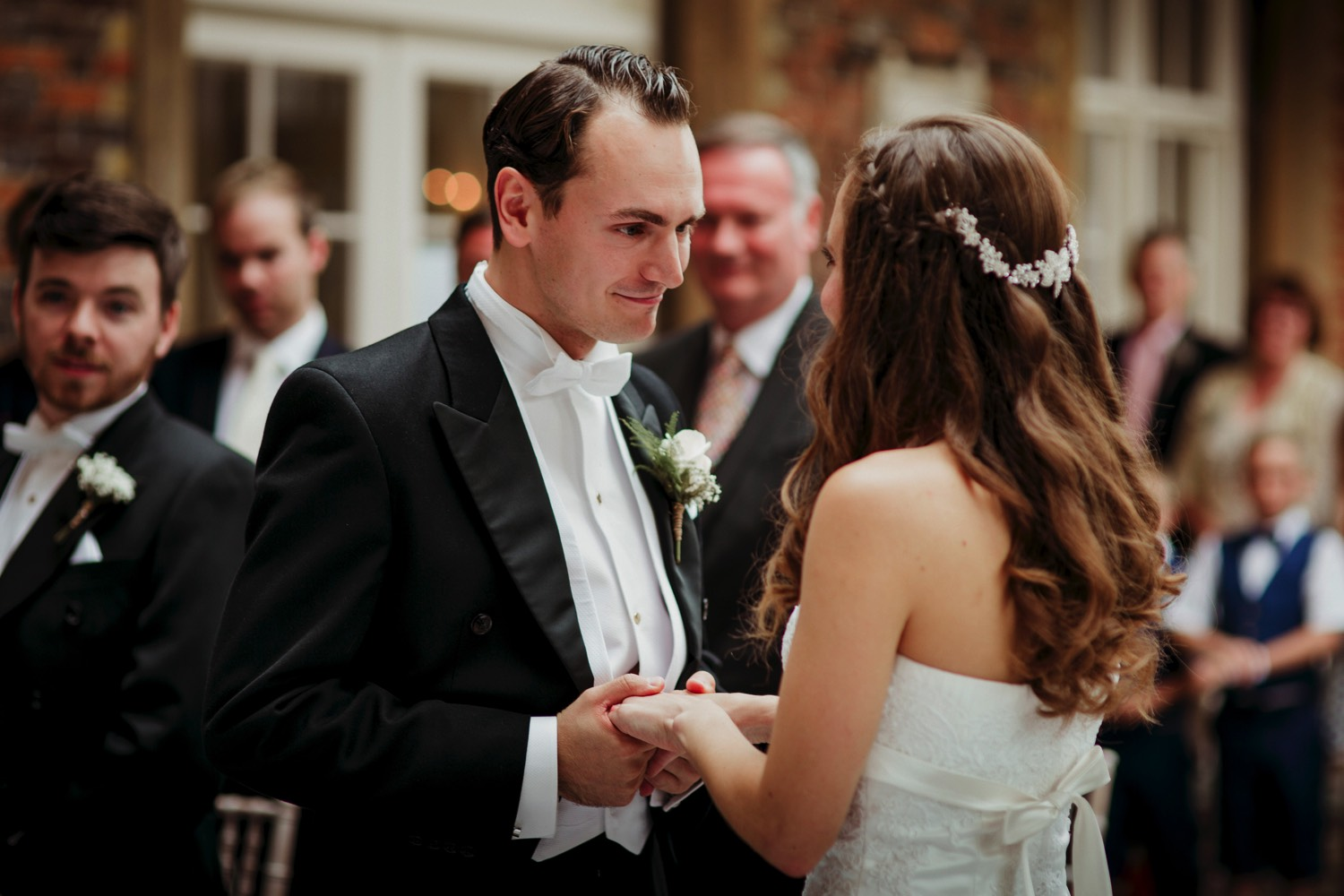 Offley Place Country Hotel wedding photo