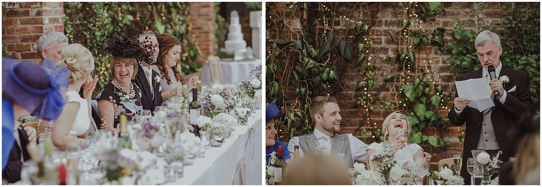 Northbrook Park wedding reception photo