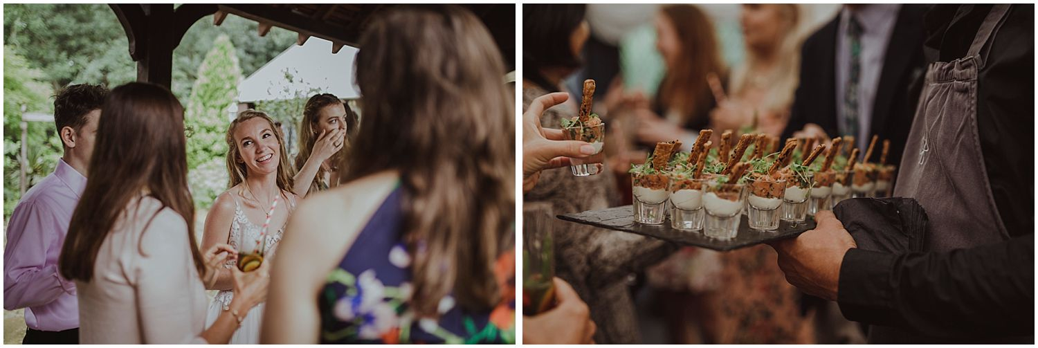 Vikki: Circa had such afun menu and totally got our taste. The food was delicious and so beautifully presented!We loved the quirky evening food options from churros,smores and gelatoto a pizza van.