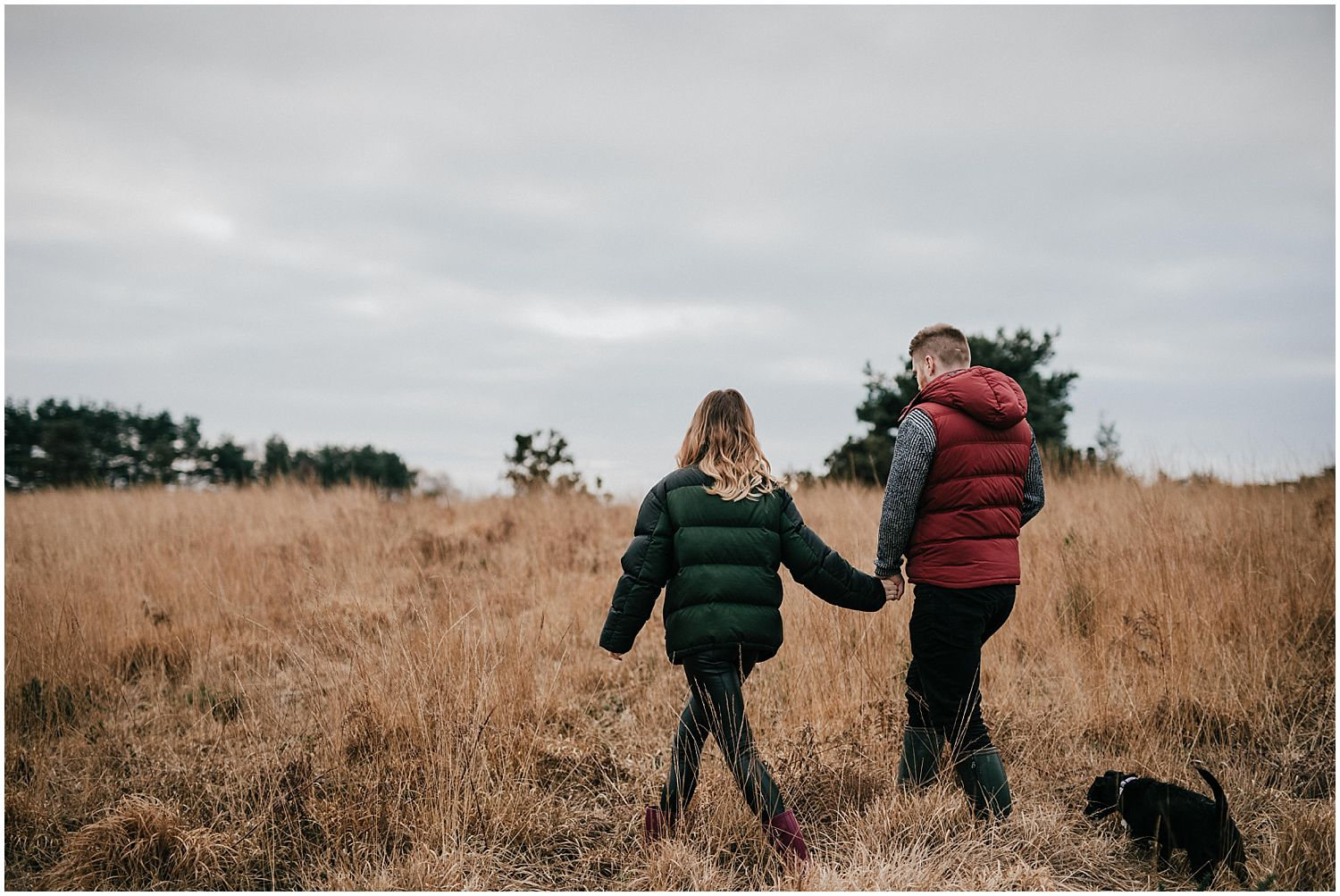 Ashdown Forest engagement shoot