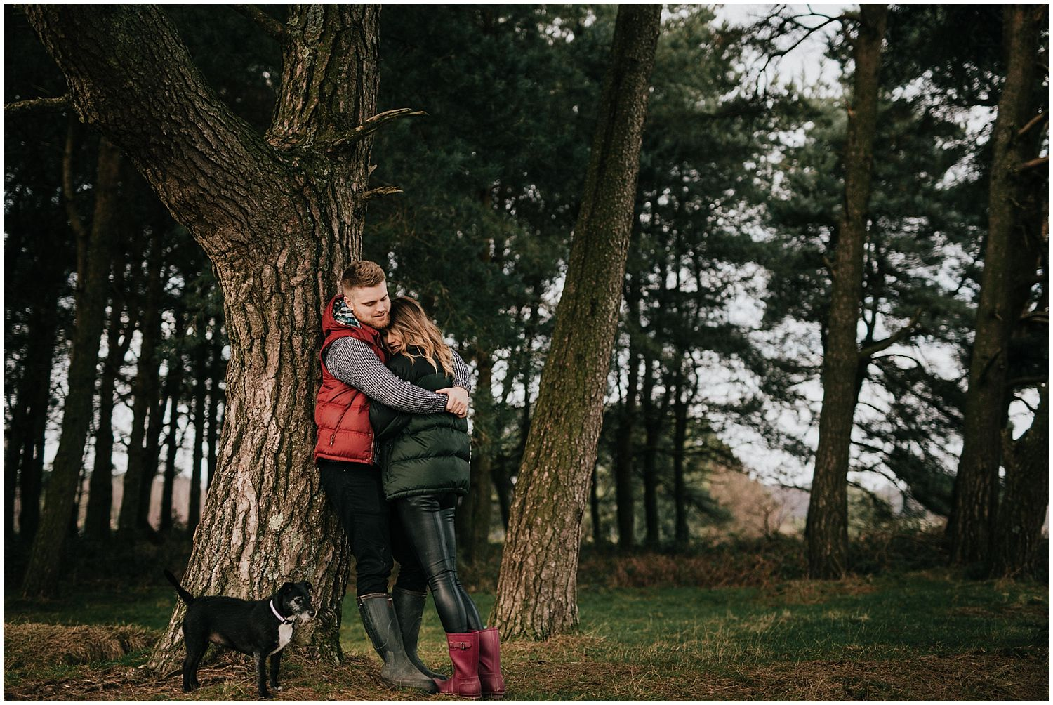 Ashdown Forest engagement photos