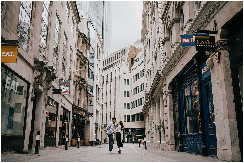 Leadenhall Market London engagement shoot12.jpg