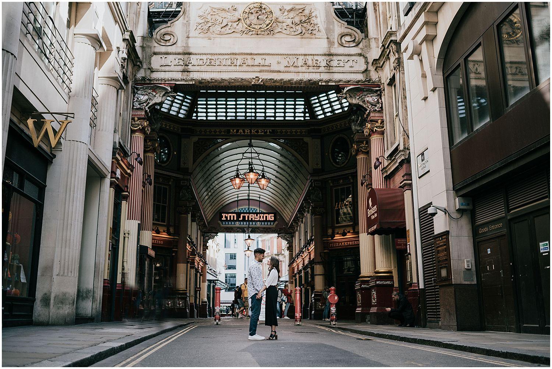 Leadenhall Market London engagement shoot26.jpg