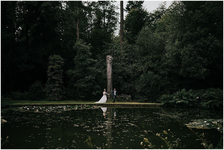 Bridal photos at Coverwood Lakes Surrey