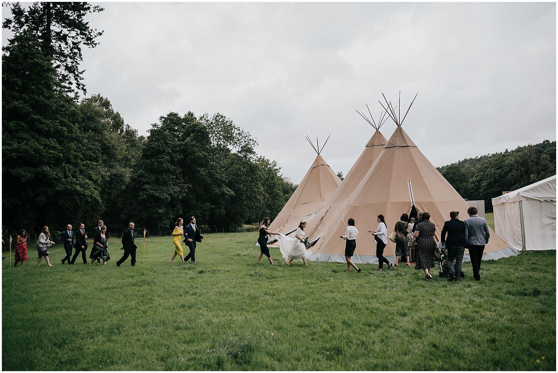 Tipi wedding venue Surrey