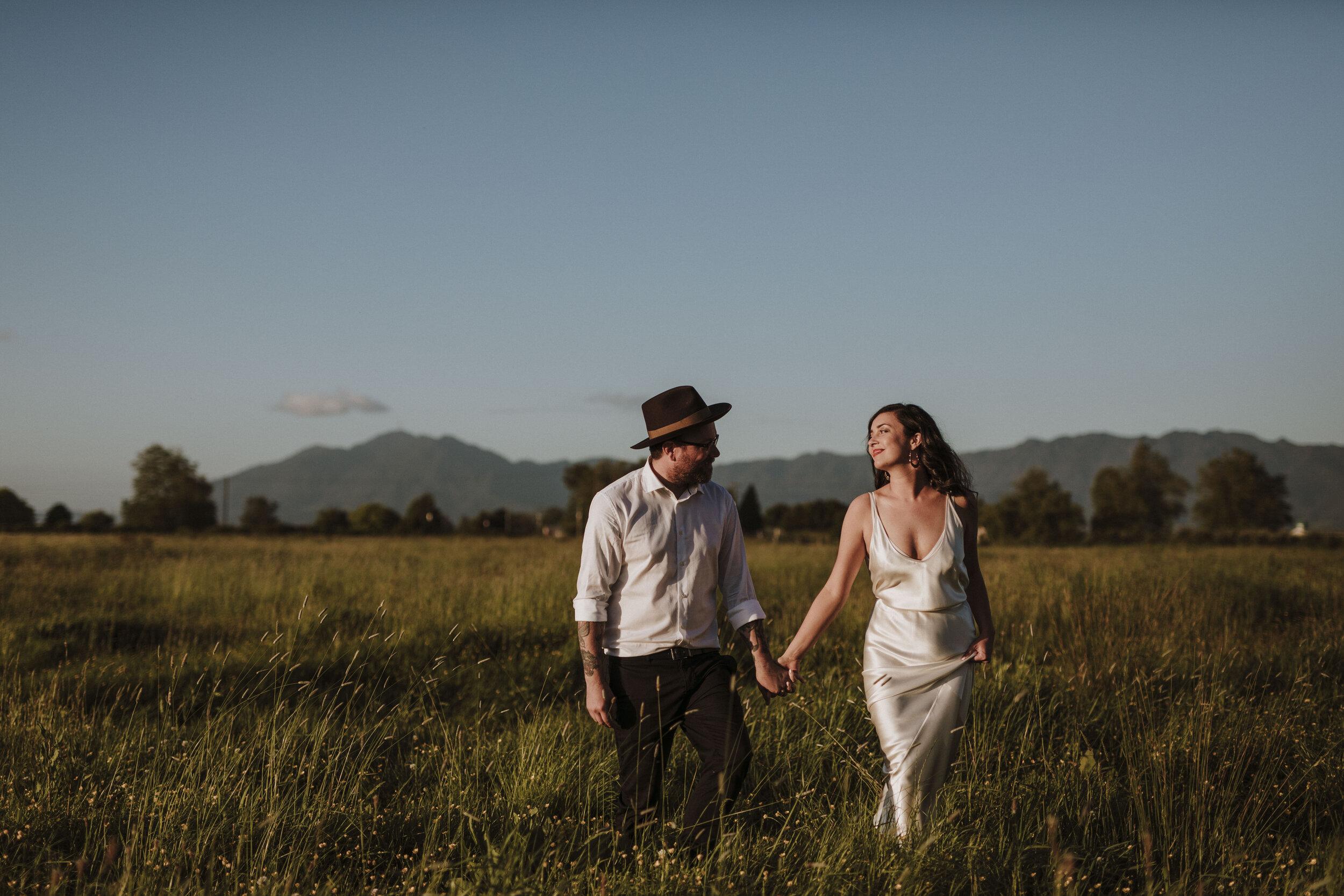 Hannah & PJ - The Hall, New Zealand