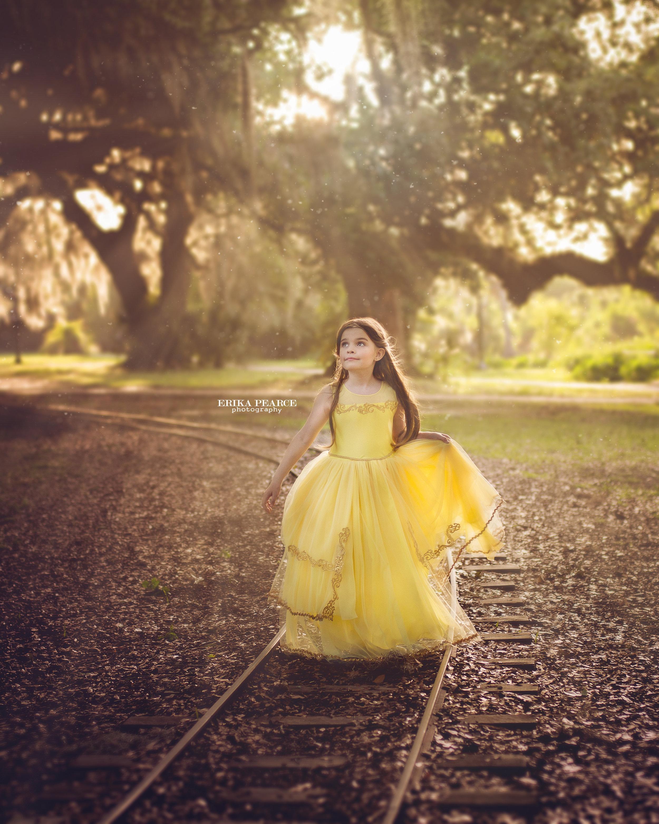 FamilyPhotography Covington LA Mandeville LA New Orleans Child Photographer Princess