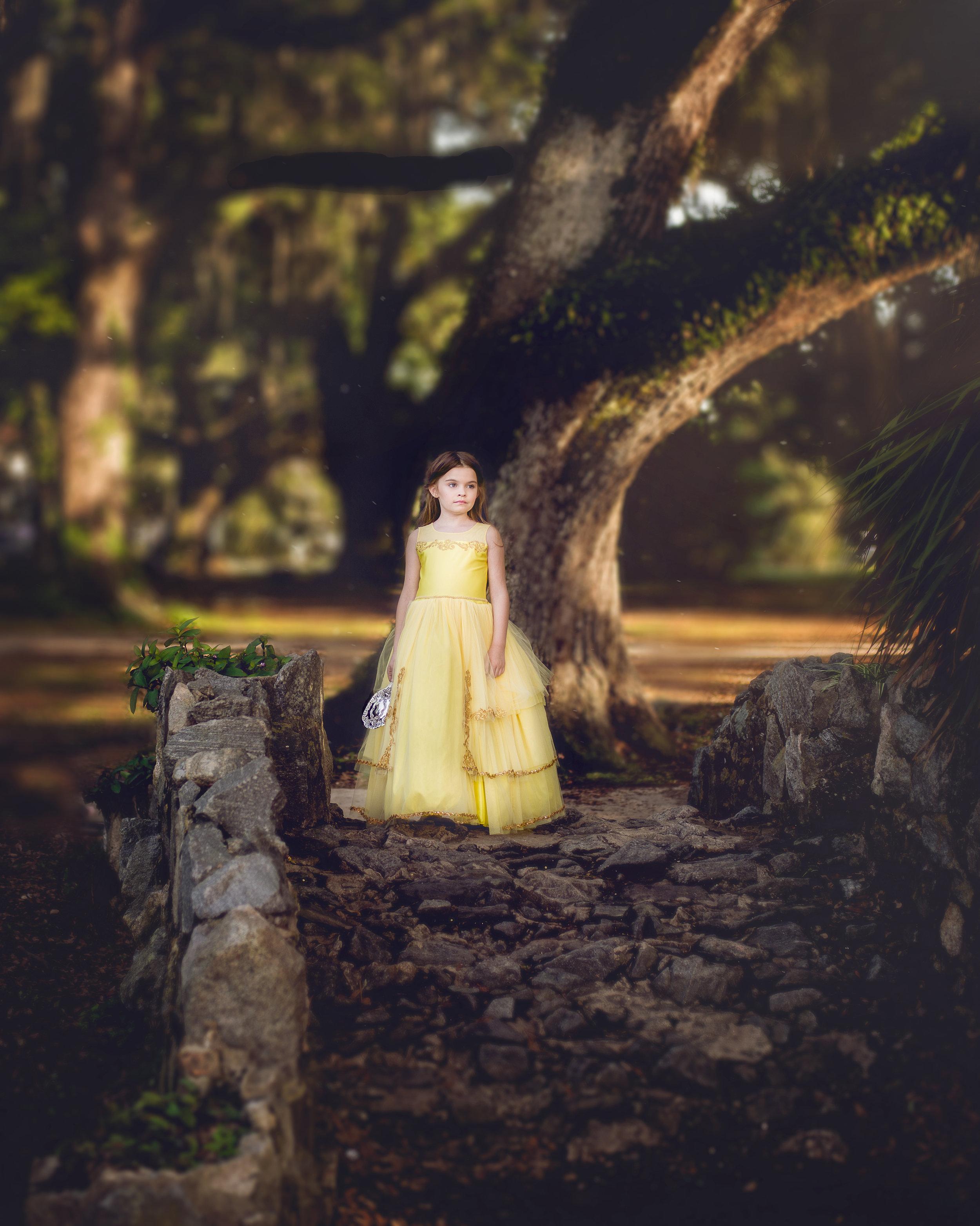 Family Photographer Covington LA Mandeville LA New Orleans Child Photographer Princess Belle