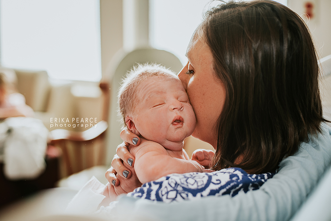 Erika Pearce Photography | Fresh 48 Experience Session | Louisiana | Northshore | Nola | Mandeville | Covington | Newborn Baby