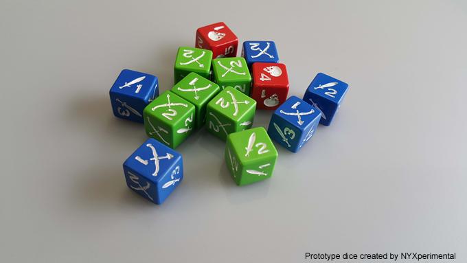 Nice custom dice.