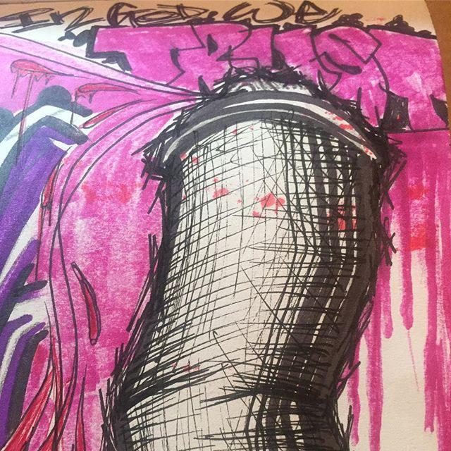 In God We Trust. #btldgraffiti #btldsketchbook #blessed #artist #artista
