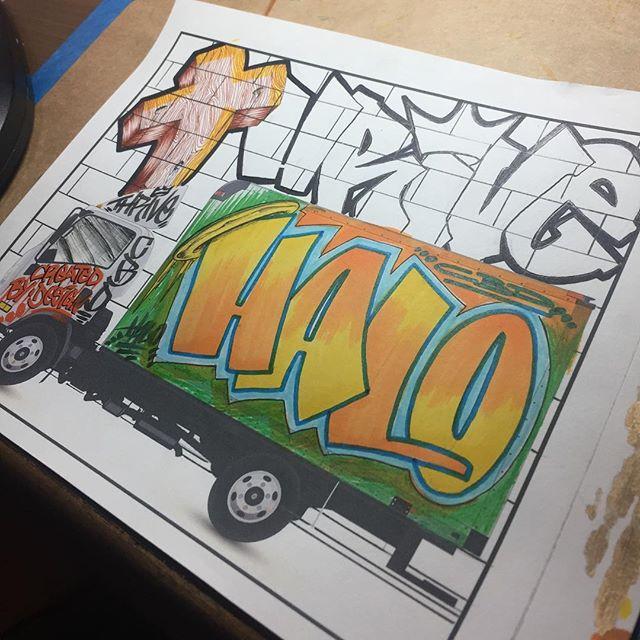 Just a little progress. #btldgraffiti #btld #btldrawings #blessed #thriveyouthministry #thriveyouthministries #artist #artista