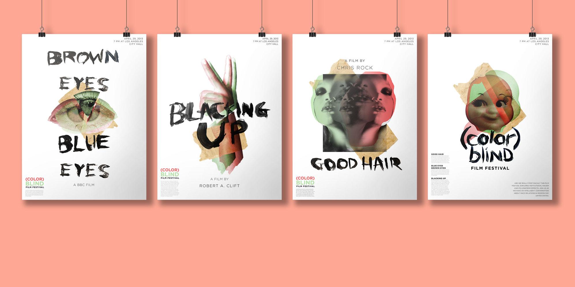 Poster series for film festival