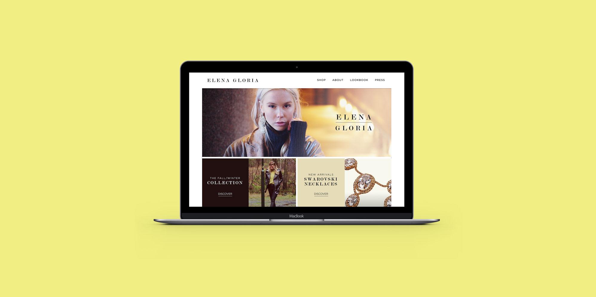 Elena Gloria Web Rebrand