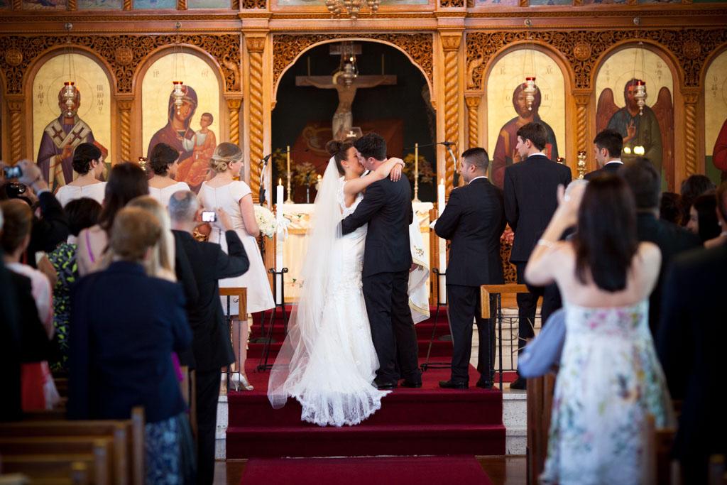 St Nicholas Greek Orthodox, Marrickville - Jess & Georgia