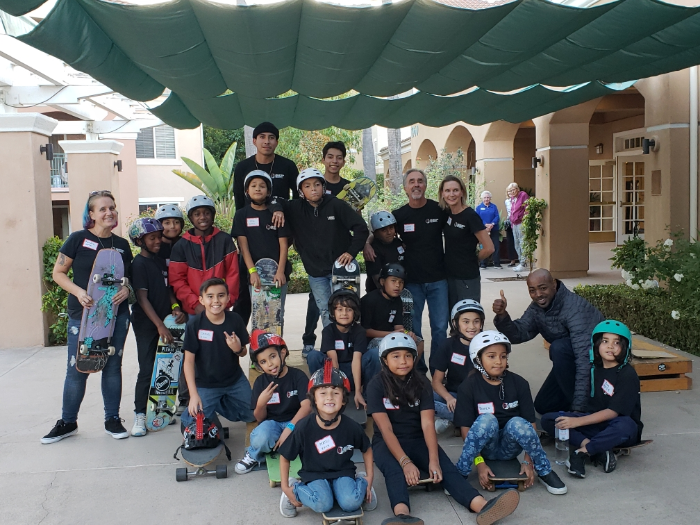 Skate Demo at La Costa Glen - November 2018We brought kids from Oceanside Lifeline and Keiller Leadership Academy for a Skate Demo at the retirement community.