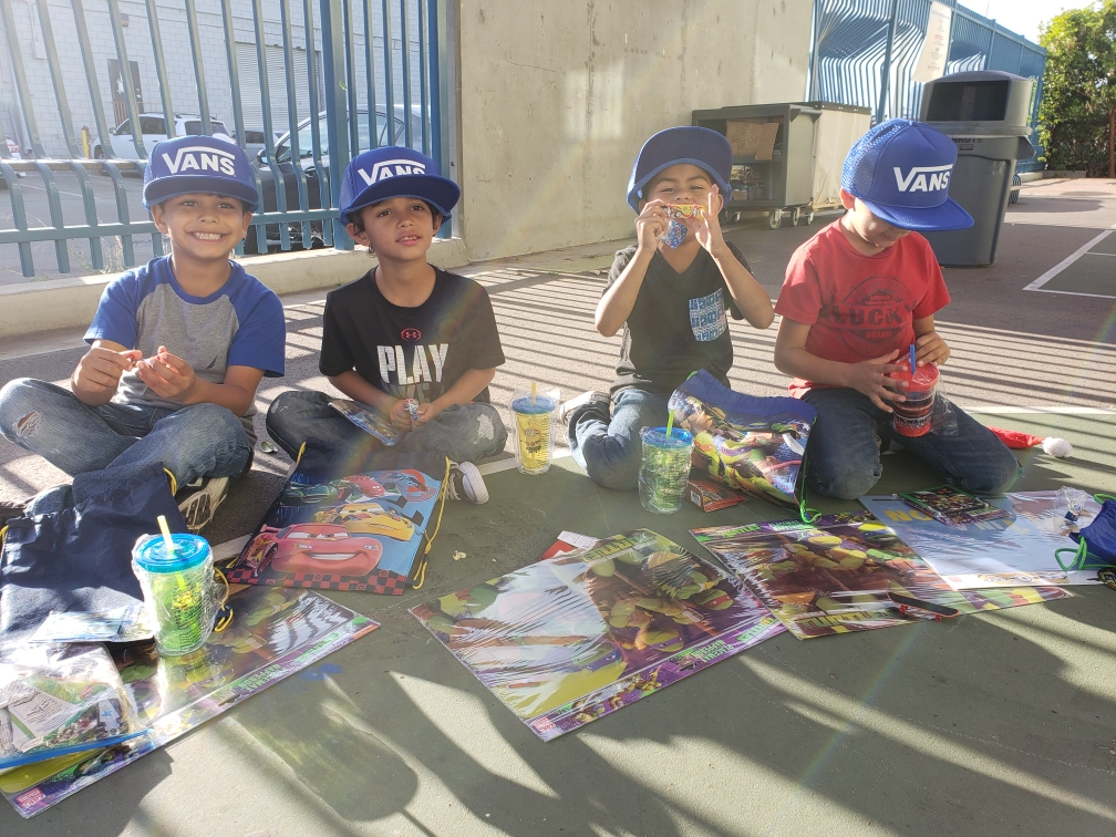 Monarch Christmas Giveaway - December 2018We were able to give gifts to our kids at Monarch through donations from Vans and community partners.