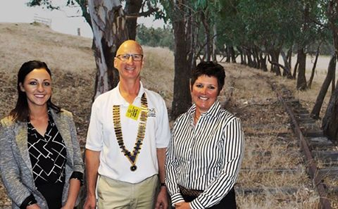 Wollundry members were given a virtual tour  on Tuesday of the proposed Wagga to Ladysmith Rail Trail.  Lisa Glastenbury assisted by Sam Brunskill presented the Wagga Rail Trail with a very informative and professional talk. #waggarailtrail