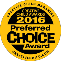 """The Joy of Numbers"" received the 2016 Preferred Choice from Creative Child Award"