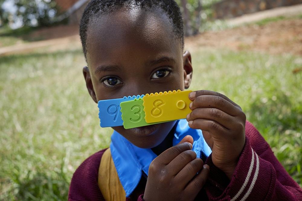 Newmero donation in Tanzania school