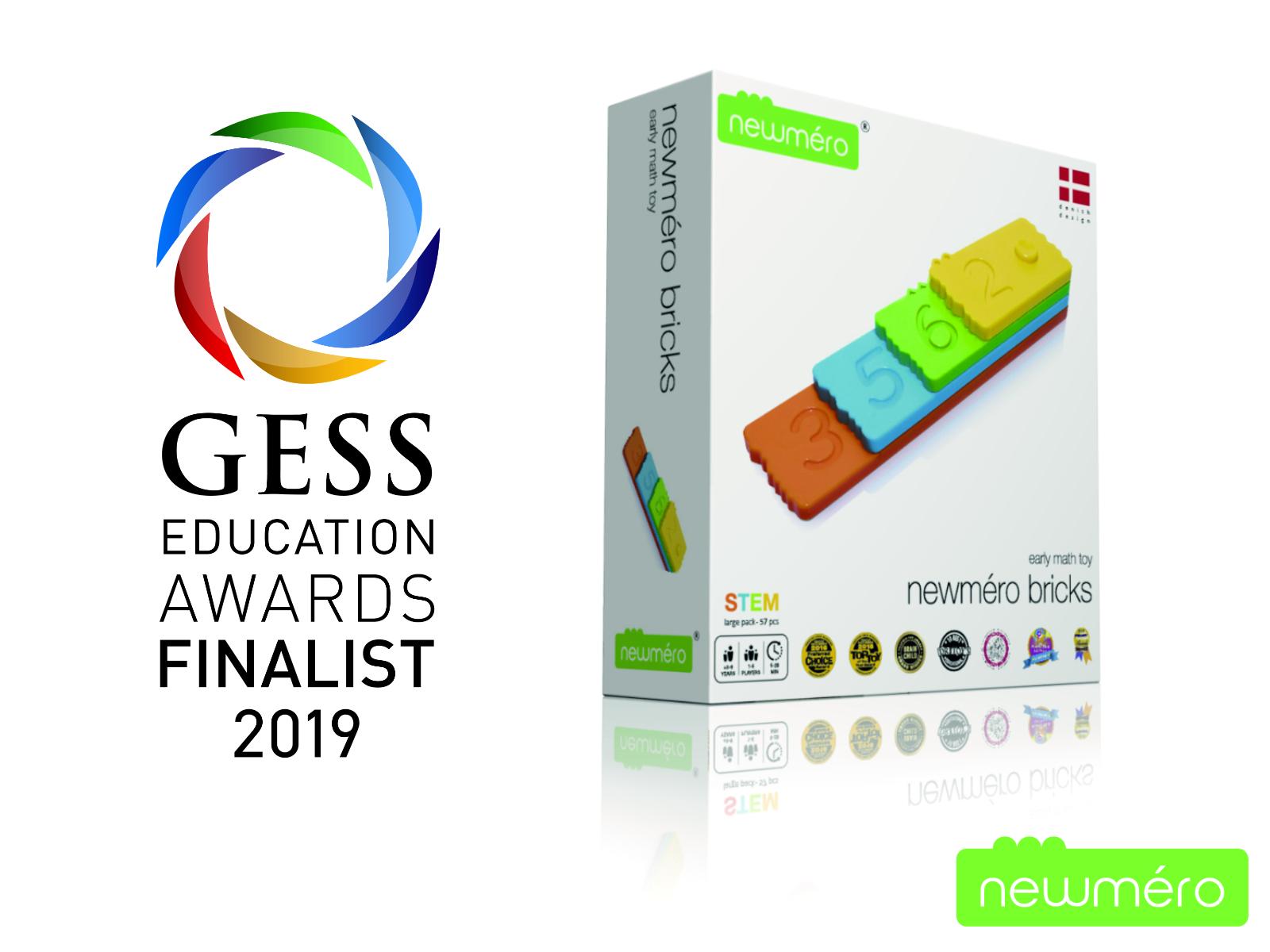 newmero bricks GESS award 2019 finalist