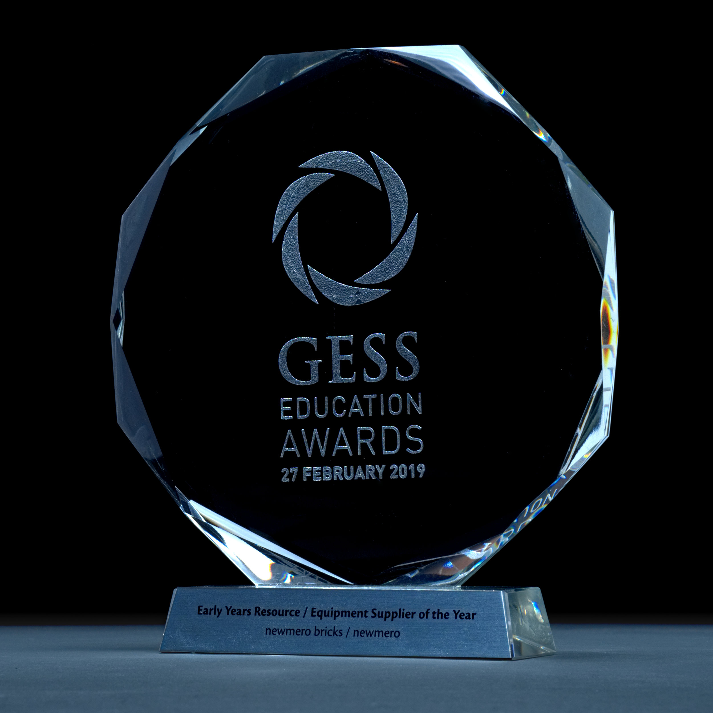 Gess Award 2019 newmero winner