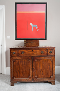 Kingston study with sideboard and Craigie Aitchison.jpg