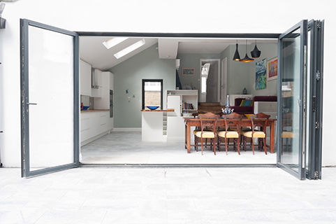 Kingston kitchen view through bifold doors copy 2.jpg