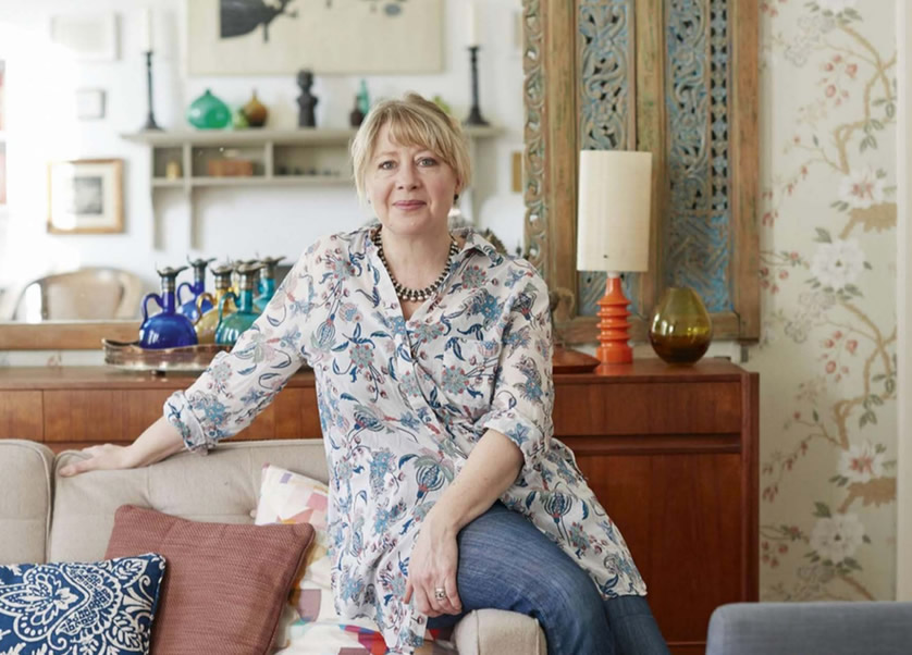 Global vision - An old school house is the backdrop for Nicky and Matt Percival's beguiling mix of Asian treasures, family antiques and mid-century finds.