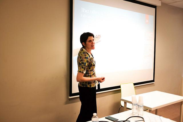 Marieke Huysentruyt of Oksigen Lab